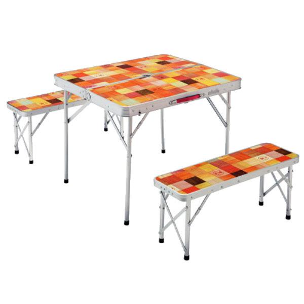 Coleman(コールマン) ナチュラルモザイクファミリーリビングセットミニ プラス 2000026758テーブル レジャーシート テーブルセット アウトドアギア