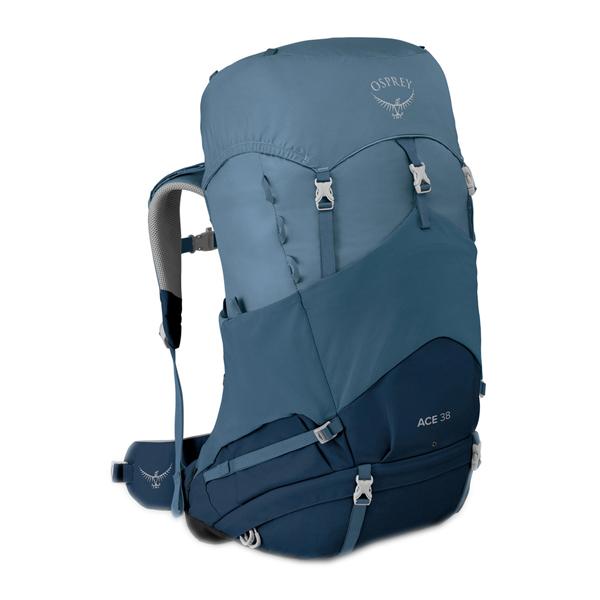 OSPREY(オスプレー) エース 38/ブルーヒルズ OS50118アウトドアギア ジュニア用デイパック ランドセル バックパック リュック ブルー 子供用 おうちキャンプ