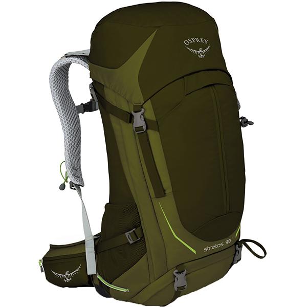 OSPREY(オスプレー) ストラトス 36/ゲイターグリーン/S/M OS50301グリーン リュック バックパック バッグ トレッキングパック トレッキング30 アウトドアギア