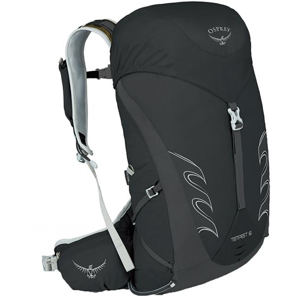 OSPREY(オスプレー) テンペスト 16/ブラック/XS/S OS50264女性用 ブラック リュック バックパック バッグ トレッキングパック トレッキング小型 アウトドアギア