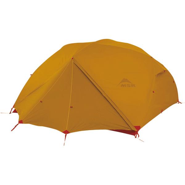 MSR(エムエスアール) エリクサー3/ゴールド 37046アウトドアギア 登山3 登山用テント タープ 三人用(3人用) ゴールド