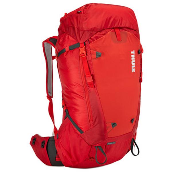 THULE(スーリー) Thule Versant 60L Mens Backpacking Pack Bing/レッド 211200男性用 レッド リュック バックパック バッグ トレッキングパック トレッキング60 アウトドアギア