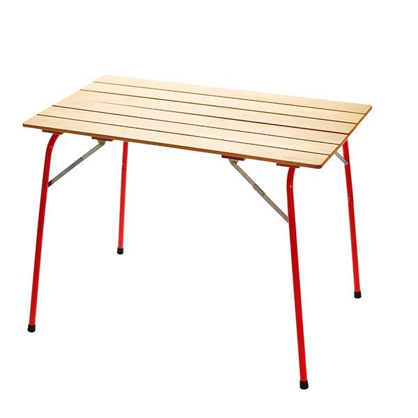 Castelmerlino(カステルメルリーノ) ハイ&ローキャンパーテーブル 100×60 20053テーブル レジャーシート ローテーブル アウトドアギア