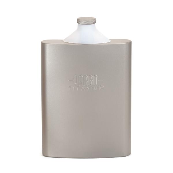 vargo(バーゴ) バーゴ チタニウム ファンネル フラスコ T-447アウトドアギア スキットル アウトドア キャンプ用食器