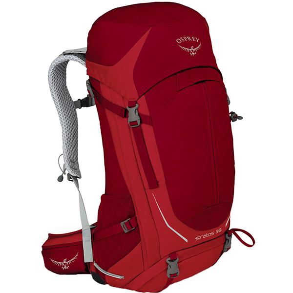 OSPREY(オスプレー) ストラトス 36/ビートレッド/S/M OS50301リュック バックパック バッグ トレッキングパック トレッキング30 アウトドアギア