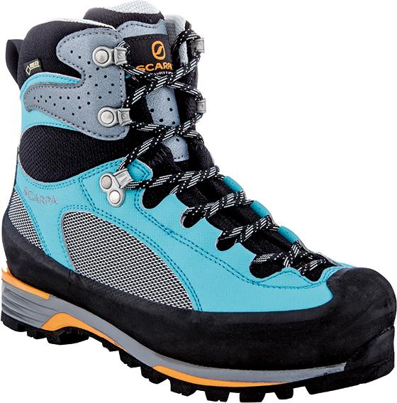 SCARPA(スカルパ) シャルモ プロ GTX WMN/グレー/モルディブ/#37 SC23081ブーツ 靴 トレッキング トレッキングシューズ トレッキング用 アウトドアギア