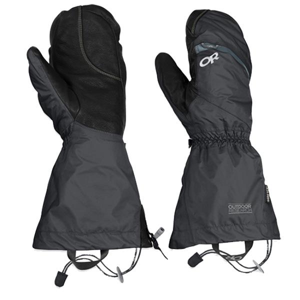 Outdoor Research(アウトドアリサーチ) ORMensAltiMitts/black/S 19497189ブラック 手袋 メンズウェア ウェア ウェアアクセサリー 冬用グローブ アウトドアウェア