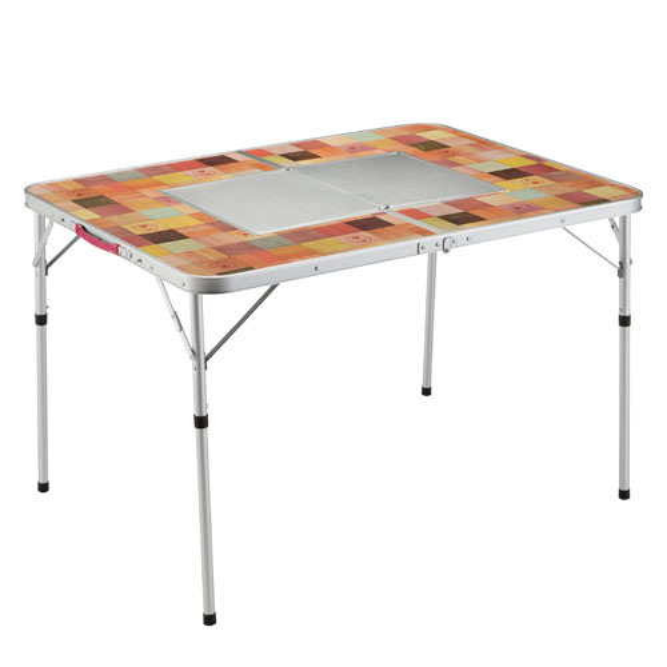 Coleman(コールマン) ナチュラルモザイクBBQテーブル/110 プラス 2000026760テーブル レジャーシート BBQテーブル アウトドアギア