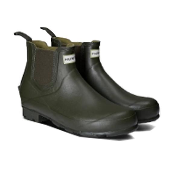 HUNTER(ハンター) メンズ ノリス フィールド チェルシーブーツ/ダークオリーブ/UK7 MFS9074RMA男性用 カーキ レインシューズ メンズ靴 靴 レインブーツ レインブーツ アウトドアウェア