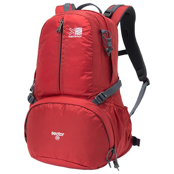 karrimor(カリマー) セクター 25/バーミリオン 501008-2110アウトドアギア トレッキング20 トレッキングパック バッグ バックパック リュック レッド おうちキャンプ