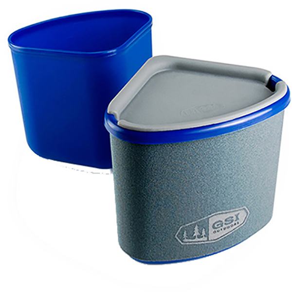 GSI(ジーエスアイ) GSI ネスティングマグ+ボウル BL BPAF 11871924ブルー セット キャンプ用食器 アウトドア テーブルウェア テーブルウェアセット アウトドアギア