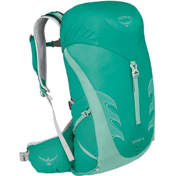 OSPREY(オスプレー) テンペスト 16/ルーセントグリーン/XS/S OS50264女性用 グリーン リュック バックパック バッグ トレッキングパック トレッキング小型 アウトドアギア