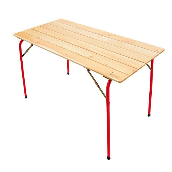 Castelmerlino(カステルメルリーノ) ハイ&ローキャンパーテーブル 120×60 20054テーブル レジャーシート ローテーブル アウトドアギア