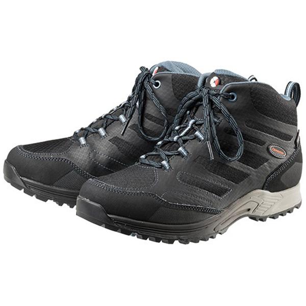 Caravan(キャラバン) キャラバンシューズC1_AC MID/898ブラック/ブルー/25.5cm 0010107男女兼用 ブラック ブーツ 靴 トレッキング トレッキングシューズ トレッキング用 アウトドアギア