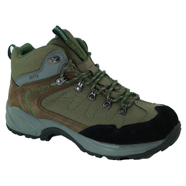 TrekSta(トレクスタ) バックカントリー/ブラウン/オリーブ/25.5 EBK137ブラウン ブーツ 靴 トレッキング トレッキングシューズ ハイキング用 アウトドアギア