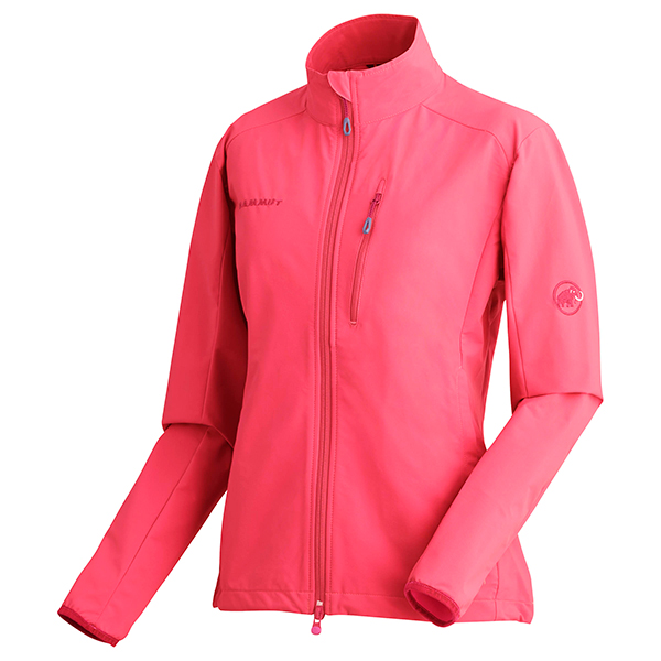 Mammut(マムート) SOFtech Wall Jacket Women/3418magenta/S 1011-00180女性用 ピンク ジャケット コート アウター ジャケット女性用 アウトドアウェア