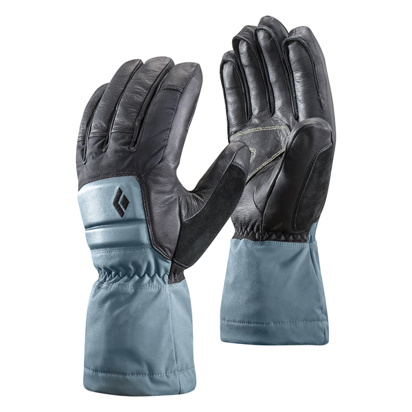 Black Diamond(ブラックダイヤモンド) ウィメンズスパークパウダー/カスピアン/L BD72104女性用 グレー 手袋 メンズウェア ウェア ウェアアクセサリー 冬用グローブ アウトドアウェア