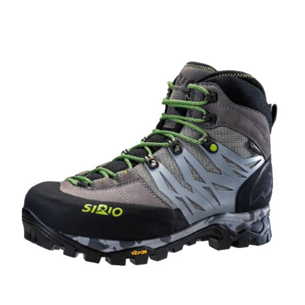 SIRIO(シリオ) P.F.46-3/TTN/24.0cm PF46-3アウトドアギア トレッキング用 トレッキングシューズ トレッキング 靴 ブーツ グレー 男性用