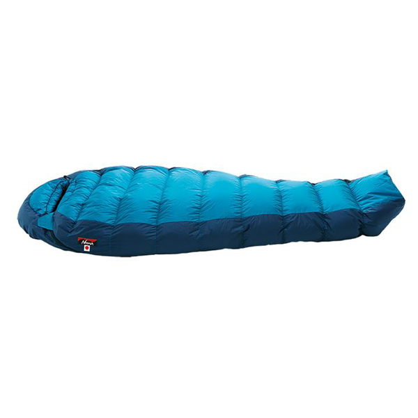 NANGA(ナンガ) オーロラライト350DX/BLU/レギュラー AURLT49ブルー 一人用(1人用) スリーシーズンタイプ(三期用) シュラフ 寝袋 アウトドア用寝具 マミー型 マミースリーシーズン アウトドアギア