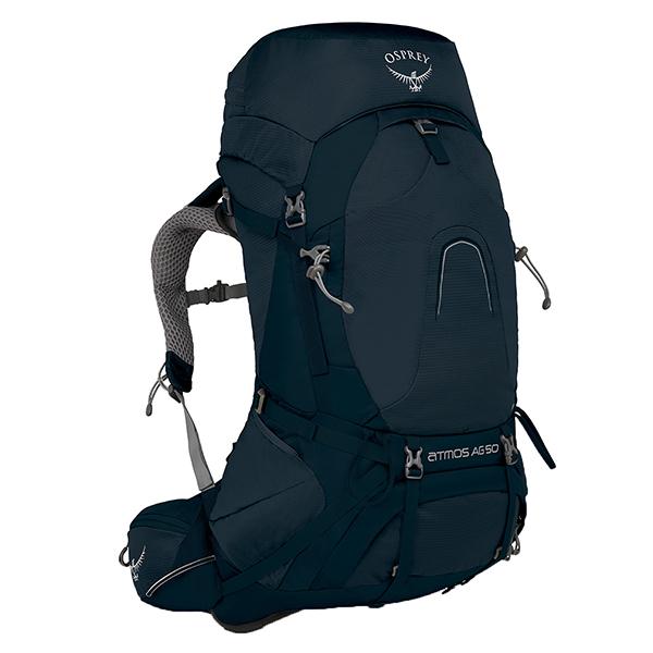 OSPREY(オスプレー) アトモスAG 50/ユニティブルー/S OS50182003004アウトドアギア トレッキング50 トレッキングパック バッグ バックパック リュック ブルー 男性用