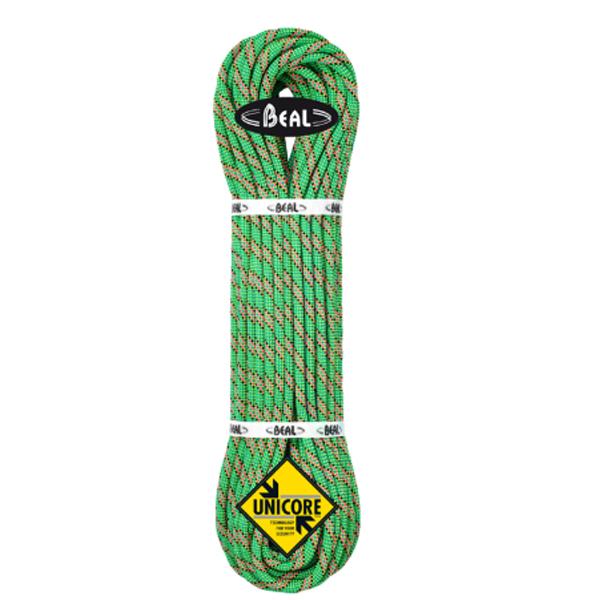 BEAL(ベアール) 8.6mm コブラ2 ユニコア 60m ゴールデンドライ/グリーン BE11031グリーン アウトドア アウトドア スポーツ ロープ ダブルロープ アウトドアギア