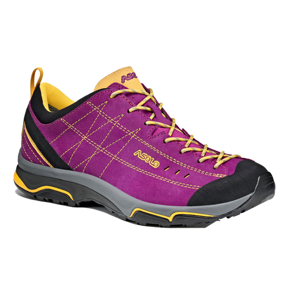 ASOLO(アゾロ) ニュークリオン WS/VR/YL/K6.0 1829680アウトドアギア ハイキング用女性用 トレッキングシューズ トレッキング 靴 ブーツ パープル