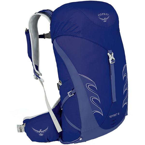 OSPREY(オスプレー) テンペスト 16/アイリスブルー/XS/S OS50264女性用 ブルー リュック バックパック バッグ トレッキングパック トレッキング小型 アウトドアギア