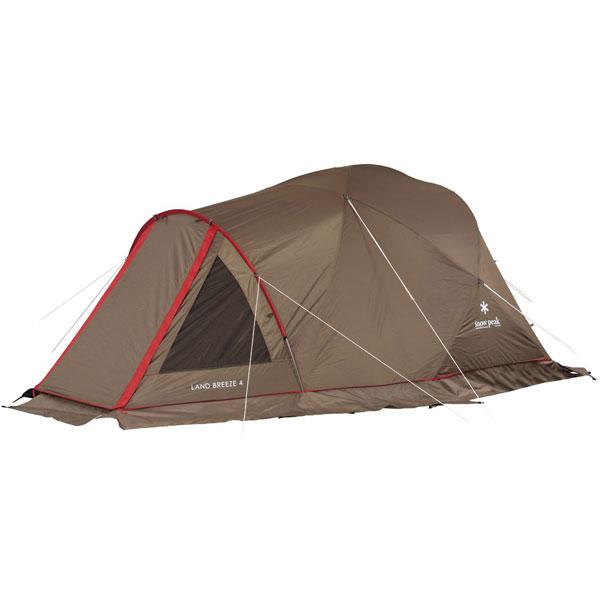 ★エントリーでポイント5倍!snow peak(スノーピーク) ランドブリーズ4 SD-634四人用(4人用) テント タープ キャンプ用テント キャンプ4 アウトドアギア
