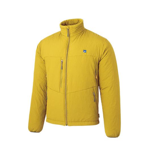 finetrack(ファイントラック) ポリゴン4ジャケット Ms MS FIM0223男性用 イエロー アウター メンズウェア ウェア ジャケット 中綿入り ジャケット 中綿入り男性用 アウトドアウェア