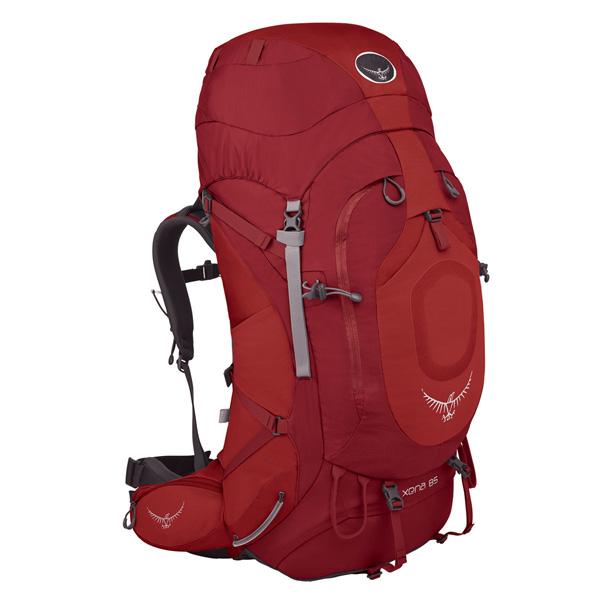 OSPREY(オスプレー) ゼナ 85/ルビーレッド/M OS50048女性用 リュック バックパック バッグ トレッキングパック トレッキング大型 アウトドアギア