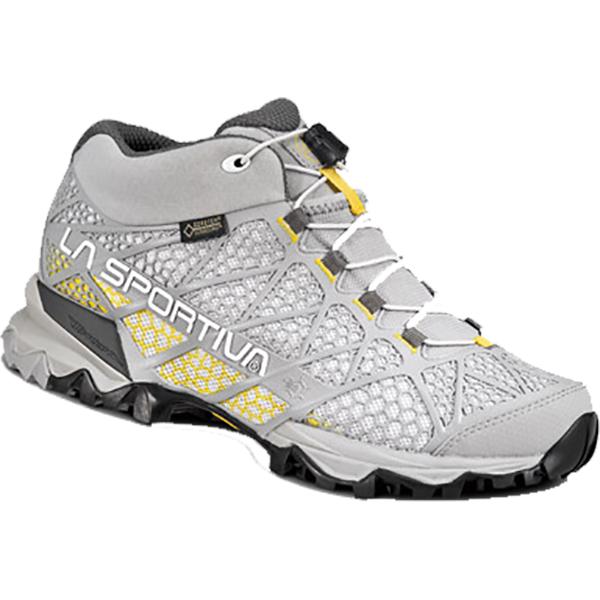 LA SPORTIVA(ラ・スポルティバ) シンセシスMIDGTX Ws/イエロー×ミッドグレイ/38 14QYM女性用 グレー ブーツ 靴 トレッキング トレッキングシューズ ハイキング用 アウトドアギア