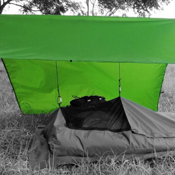 ISUKA(イスカ) オープンエア マルチタープ/グレー 209522グレー タープ タープ テント スクエア型タープ スクエア型タープ アウトドアギア
