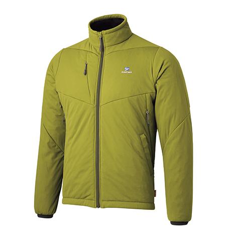 finetrack(ファイントラック) ドラウトポリゴン3ジャケット/Ms/NO/M FMM0903男性用 グリーン アウター メンズウェア ウェア ジャケット 中綿入り ジャケット 中綿入り男性用 アウトドアウェア