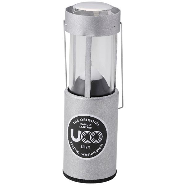 正規店 3980円以上送料無料 おうちキャンプ ベランピング エントリーでポイント最大5倍 UCO ユーコ キャンドルランタン シルバー ライト 贈り物 ランタン灯油 アルミ 24353アウトドアギア ランタン