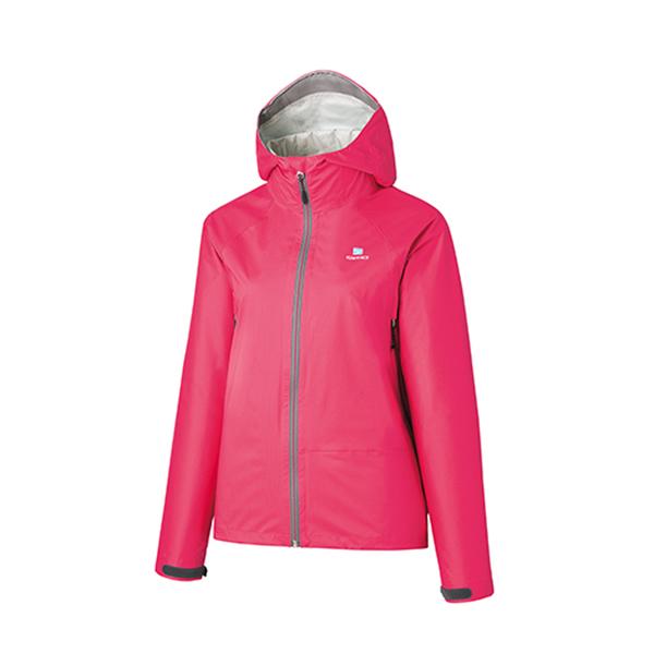 finetrack(ファイントラック) WOMENSエバーブレスレグンジャケット/CP/M FAW0801アウトドアウェア ジャケット女性用 ジャケット レディースウェア アウター ピンク