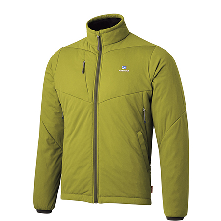 finetrack(ファイントラック) ドラウトポリゴン3ジャケット/Ms/NO/L FMM0903男性用 グリーン アウター メンズウェア ウェア ジャケット 中綿入り ジャケット 中綿入り男性用 アウトドアウェア
