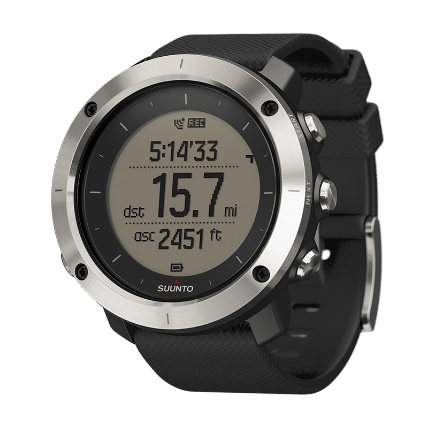 SUUNTO(スント) [正規品・2年保証]TRAVERSE BLACK(トラバース ブラック) SS021843000ブラック メンズ腕時計 腕時計 高機能ウォッチ アウトドアギア
