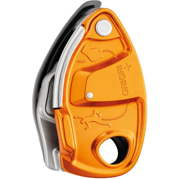 PETZL(ペツル) グリグリ+ オレンジ D13A-AGオレンジ ビレイ機 トレッキング 登山 ディッセンダー 確保器 アウトドアギア