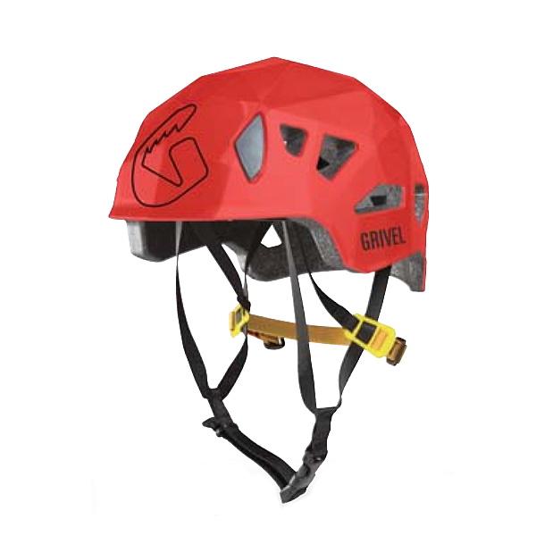 ★エントリーでポイント5倍!Grivel(グリベル) グリベル ステルス HS ヘルメット/レッド GV-HESTEH男女兼用 イエロー ヘルメット トレッキング 登山 アウトドアギア