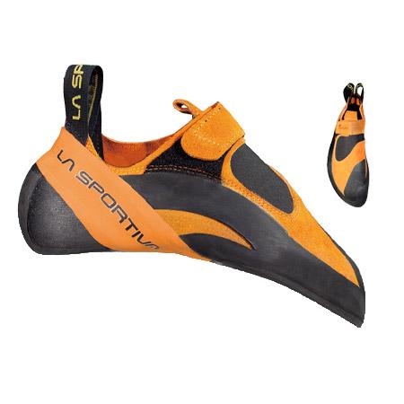 LA SPORTIVA(ラ・スポルティバ) パイソン/39.5 864アウトドアギア クライミング用 トレッキングシューズ トレッキング 靴 ブーツ オレンジ
