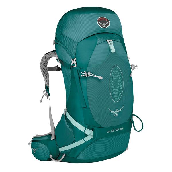 OSPREY(オスプレー) オーラAG 50/レインフォレストグリーン/M OS50226アウトドアギア トレッキング50 トレッキングパック バッグ バックパック リュック グリーン 女性用