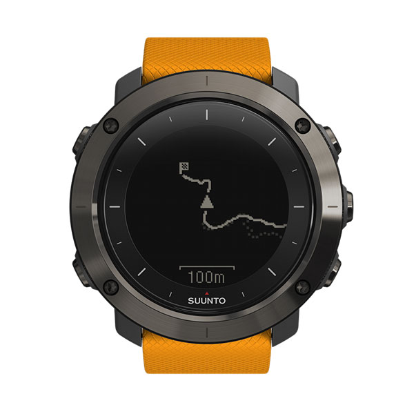 SUUNTO(スント) [正規品・2年保証]TRAVERSE AMBER(トラバース アンバー) SS021844000メンズ腕時計 腕時計 高機能ウォッチ アウトドアギア