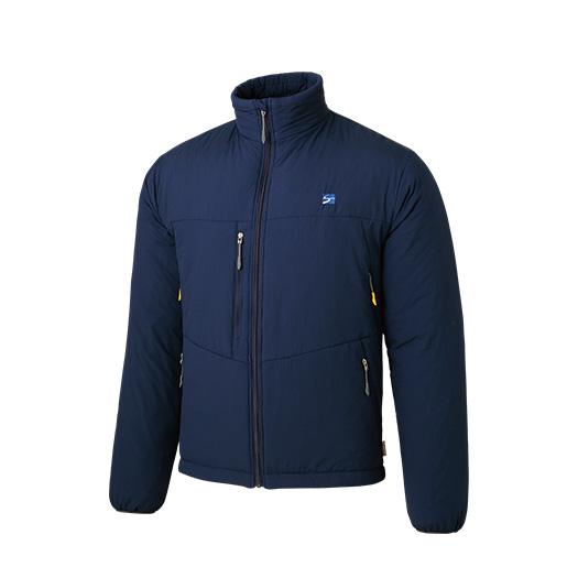finetrack(ファイントラック) ポリゴン4ジャケット Ms NV FIM0223男性用 ネイビー アウター メンズウェア ウェア ジャケット 中綿入り ジャケット 中綿入り男性用 アウトドアウェア