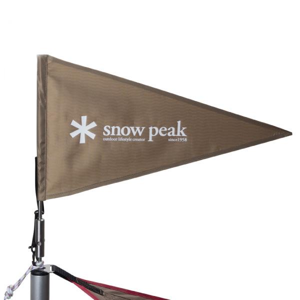 ★エントリーでポイント10倍!snow peak(スノーピーク) 2017雪峰祭春 限定商品 タープフラッグ/カーキ UG-445KHカーキ テントアクセサリー タープ テント テントオプション アウトドアギア