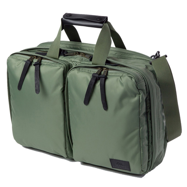 GREGORY(グレゴリー) アセンド3ウェイショルダー/モス 732131576男女兼用バッグ バッグ ブランド雑貨 トラベル・ビジネスバッグ 3WAYバッグ アウトドアギア
