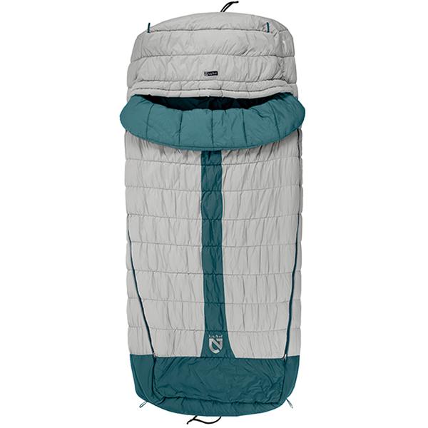NEMO(ニーモ・イクイップメント) ジャズ 20 NM-JAZ-20アウトドアギア 封筒ウインター 封筒型 アウトドア用寝具 寝袋 シュラフ グレー