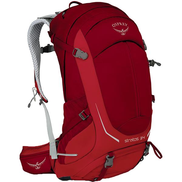 OSPREY(オスプレー) ストラトス 34/ビートレッド/S/M OS50302リュック バックパック バッグ トレッキングパック トレッキング30 アウトドアギア