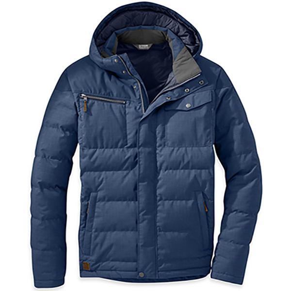 Outdoor Research(アウトドアリサーチ) OR Msホワイトフィッシュジャケット/DUSK(30B)/S 19841402男性用 ブルー アウター メンズウェア ウェア ダウンジャケット ダウンジャケット男性用 アウトドアウェア