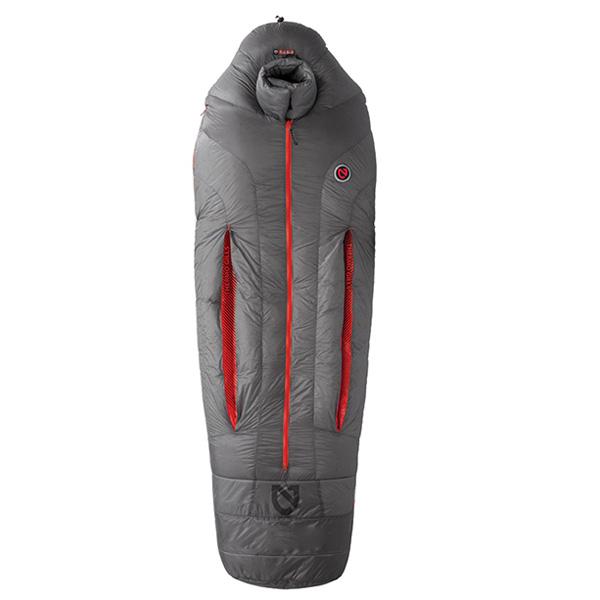 NEMO(ニーモ・イクイップメント) キャノン-40 NM-CAN-N40アウトドアギア マミーウインター マミー型 アウトドア用寝具 寝袋 シュラフ グレー