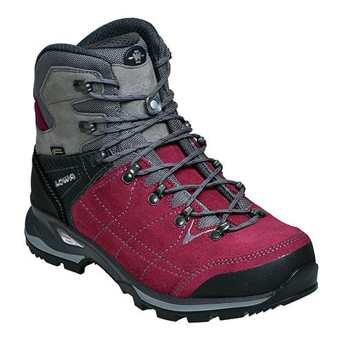 LOWA(ローバー) バンテージGTウィメンズWXL/ベリー×グレー/6H L020699-0351-6Hアウトドアギア トレッキング用女性用 トレッキングシューズ トレッキング 靴 ブーツ